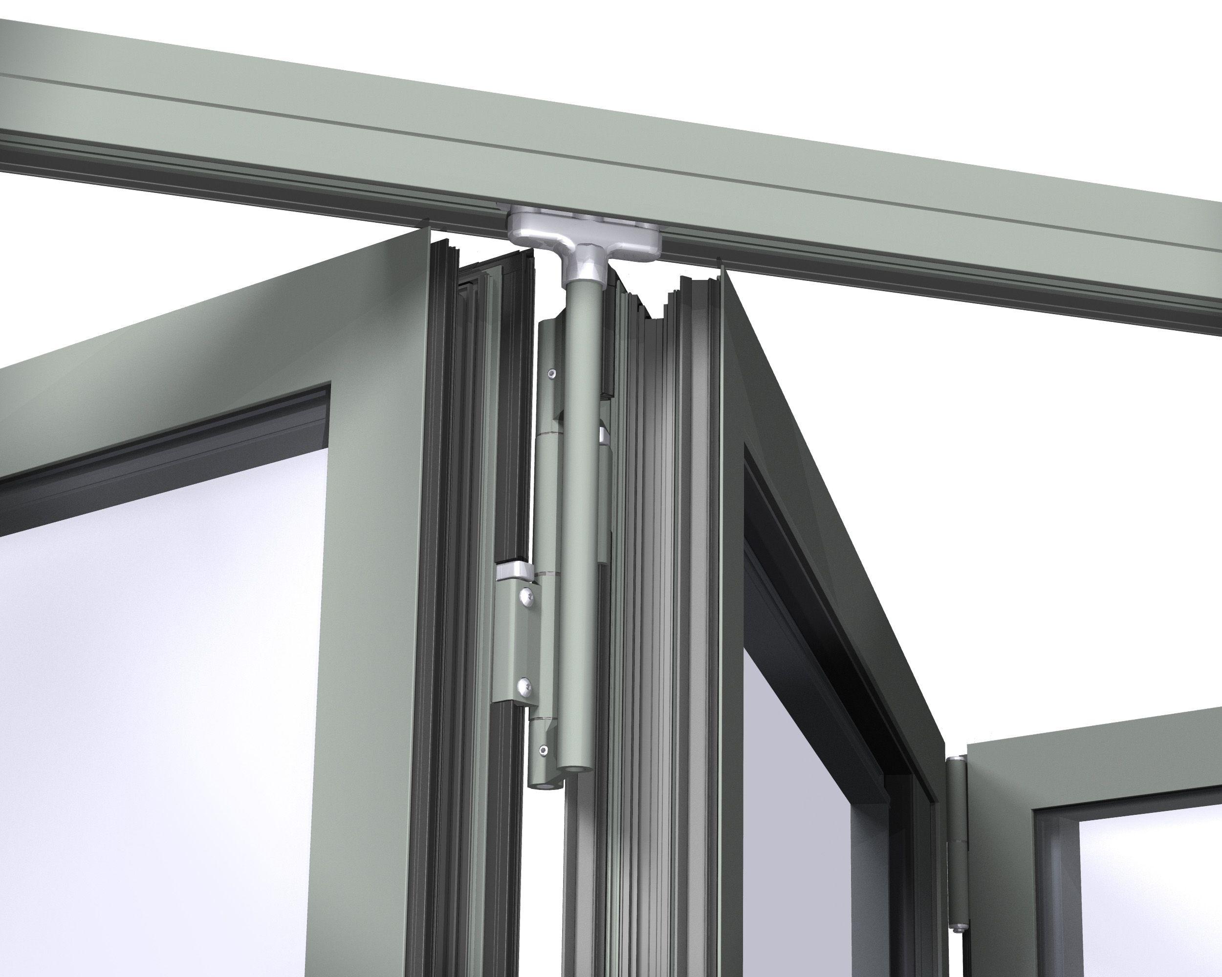 metal folding glass door - Google Search | Shower Door ...