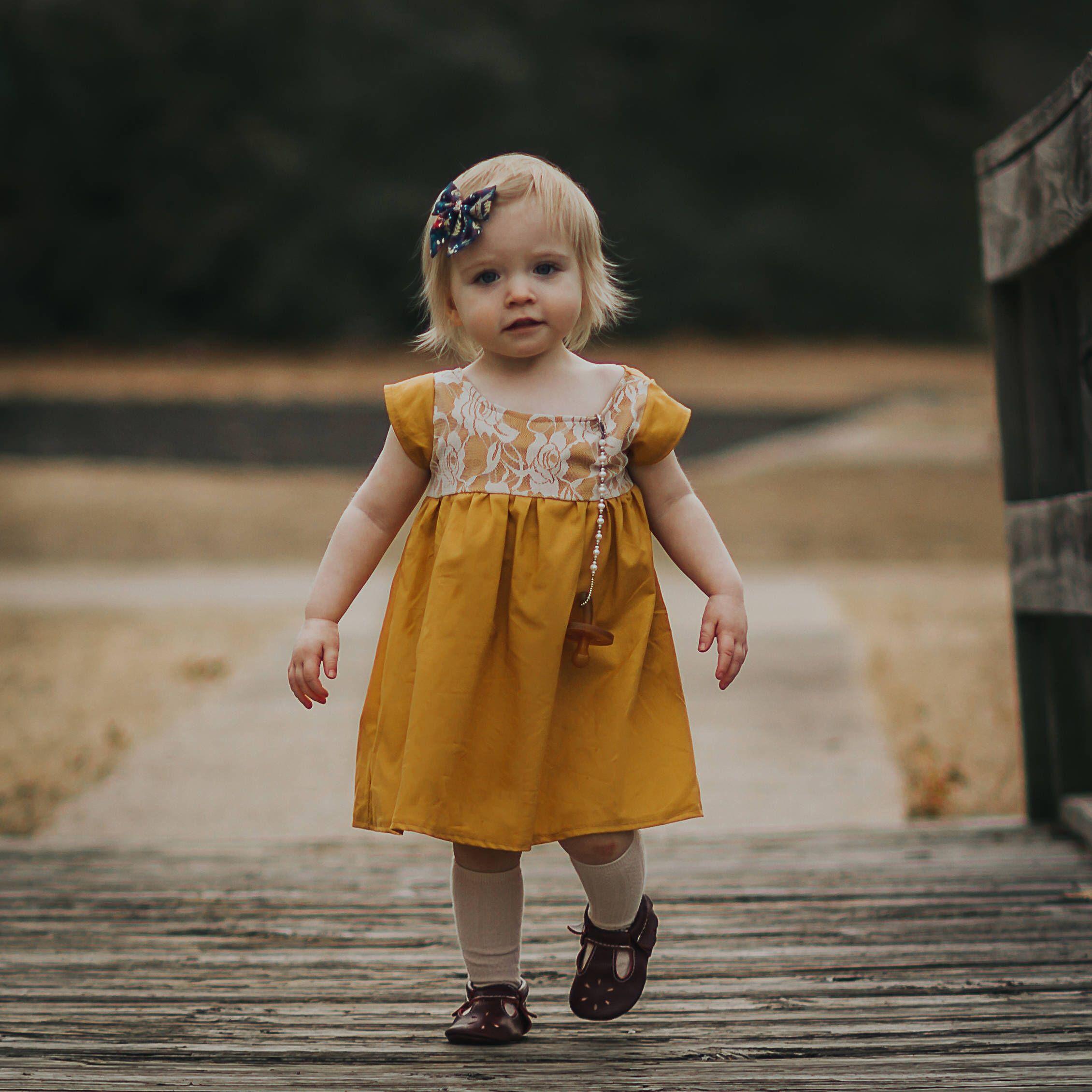 Girls Dresses Baby Dress Easter Dress Toddler Dressspring Outfit