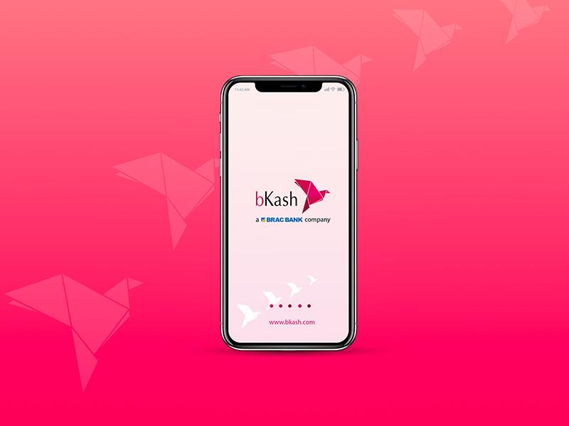 Bkash Mobile App Design   Dribbble Shot   Mobile app design