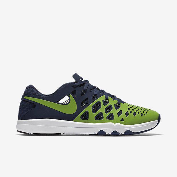 uk availability eb47e 584fe Nike Train Speed 4 AMP NFL Seattle Seahawks Mens Shoes 12 Action Green Navy  #Nike #RunningCrossTraining