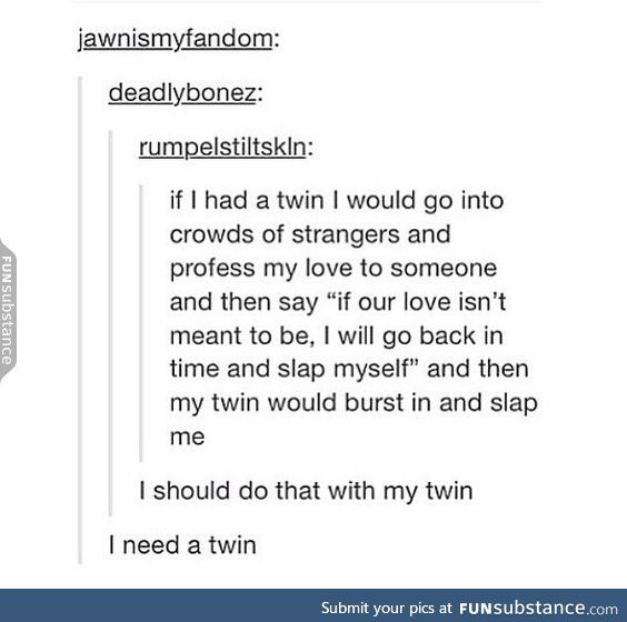 Twins should be called womb-mates