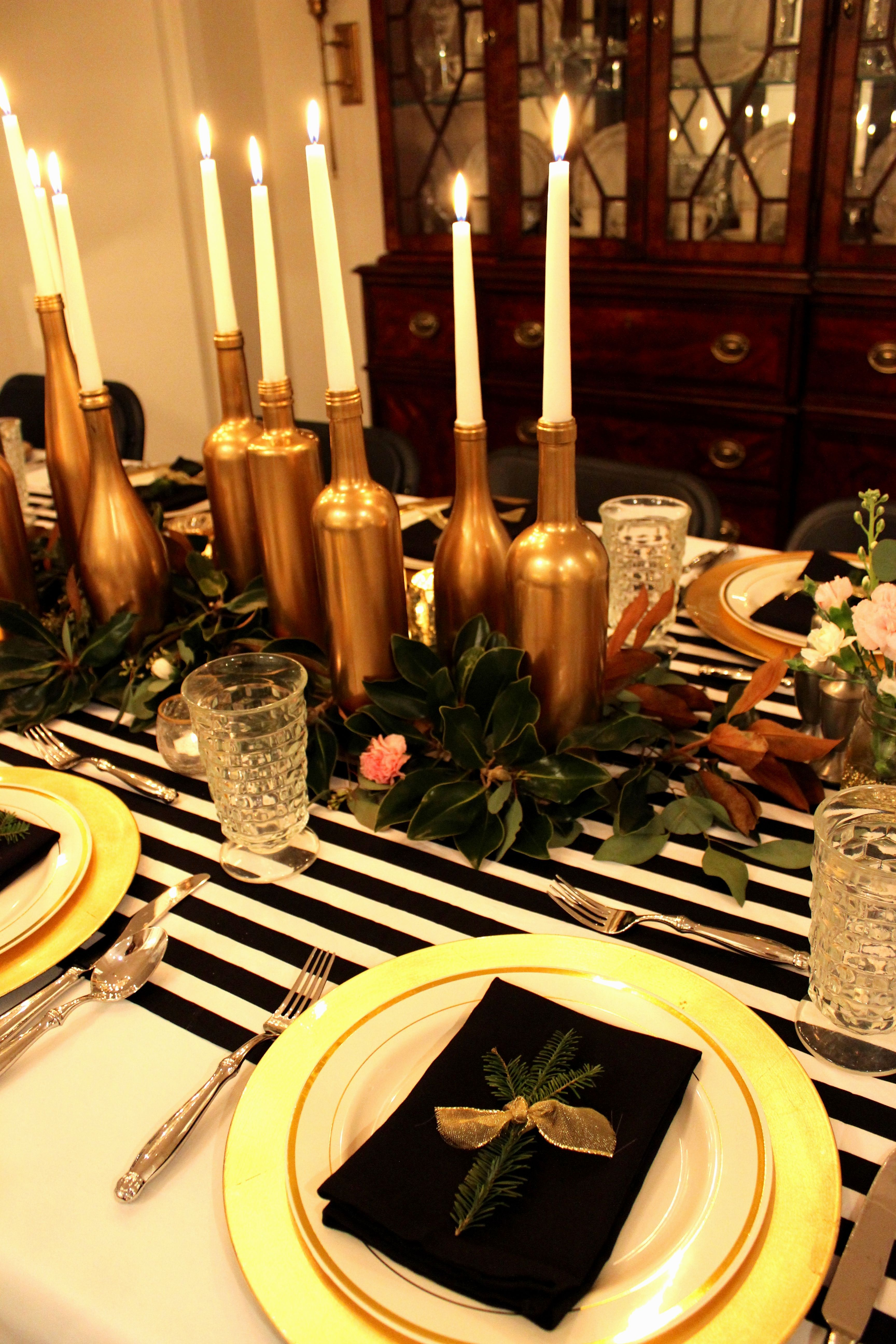 10 Black And Gold Centerpieces For Tables Awesome And Also Gorgeous Black And Gold Party Decorations Gold Table Decorations Black And Gold Centerpieces