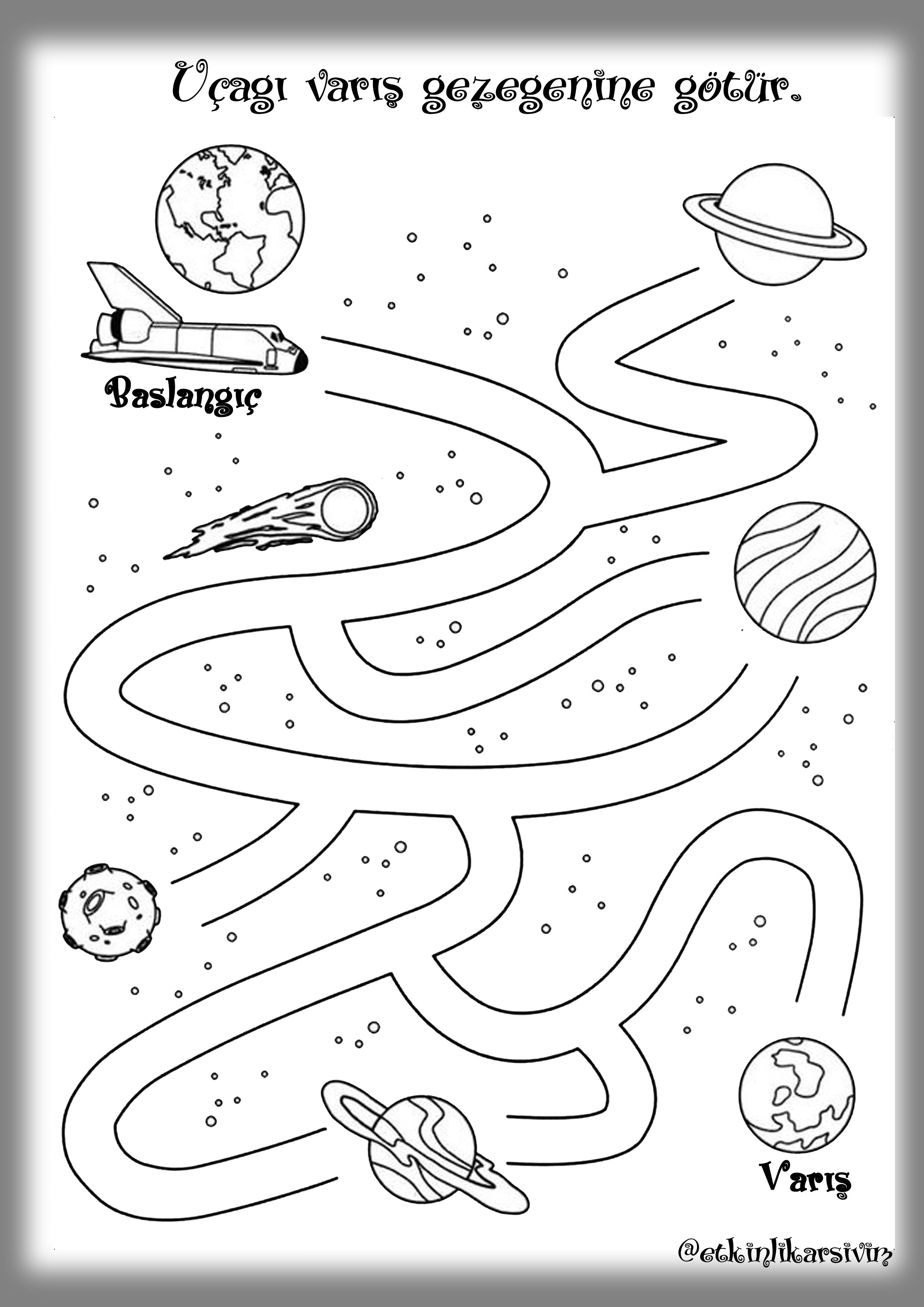 Pin by Meral Yılmaz on space | Pinterest | Maze, Sistemul solar and ...