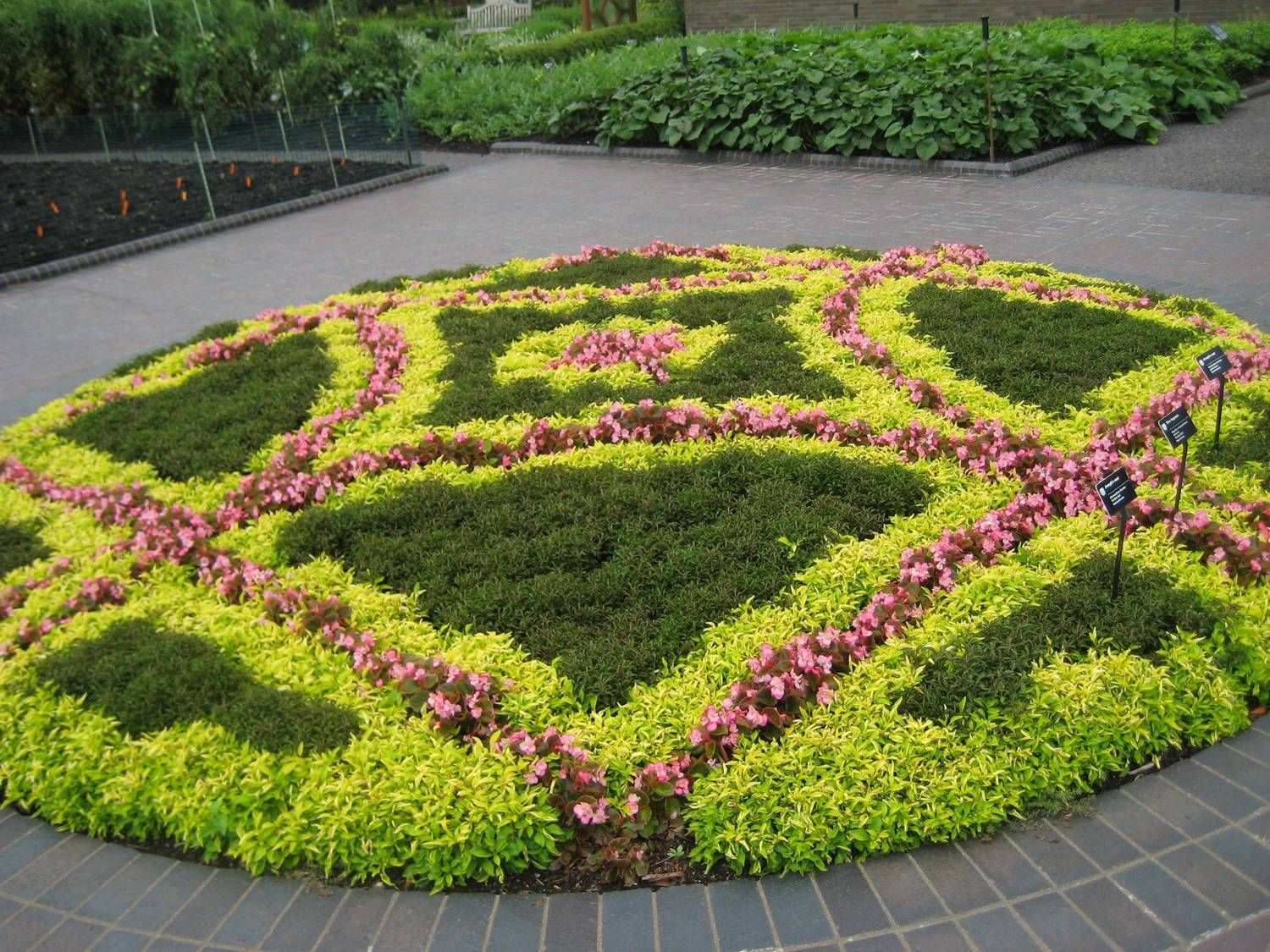 Bon Website With Garden Design Principles, But I Really Like This Circle Pattern