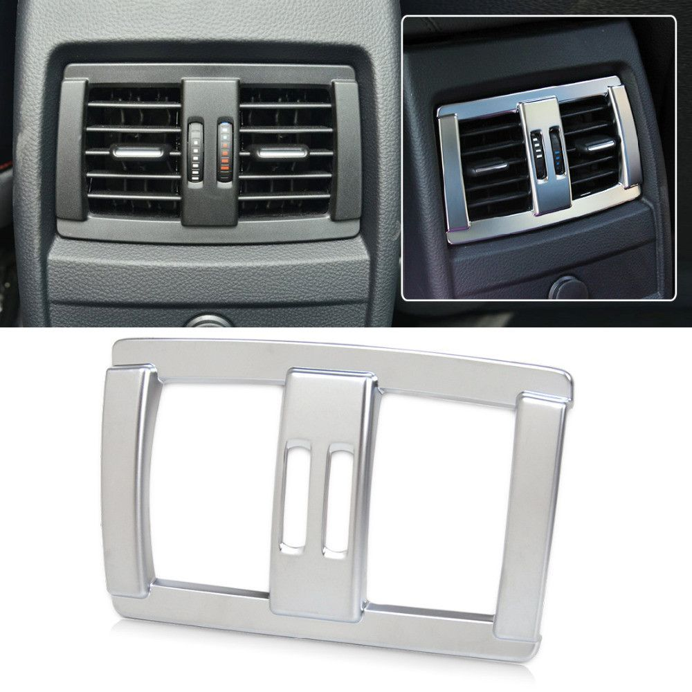 New Chrome Rear Air Vent Cover for BMW 1 2 3 4 Series F20