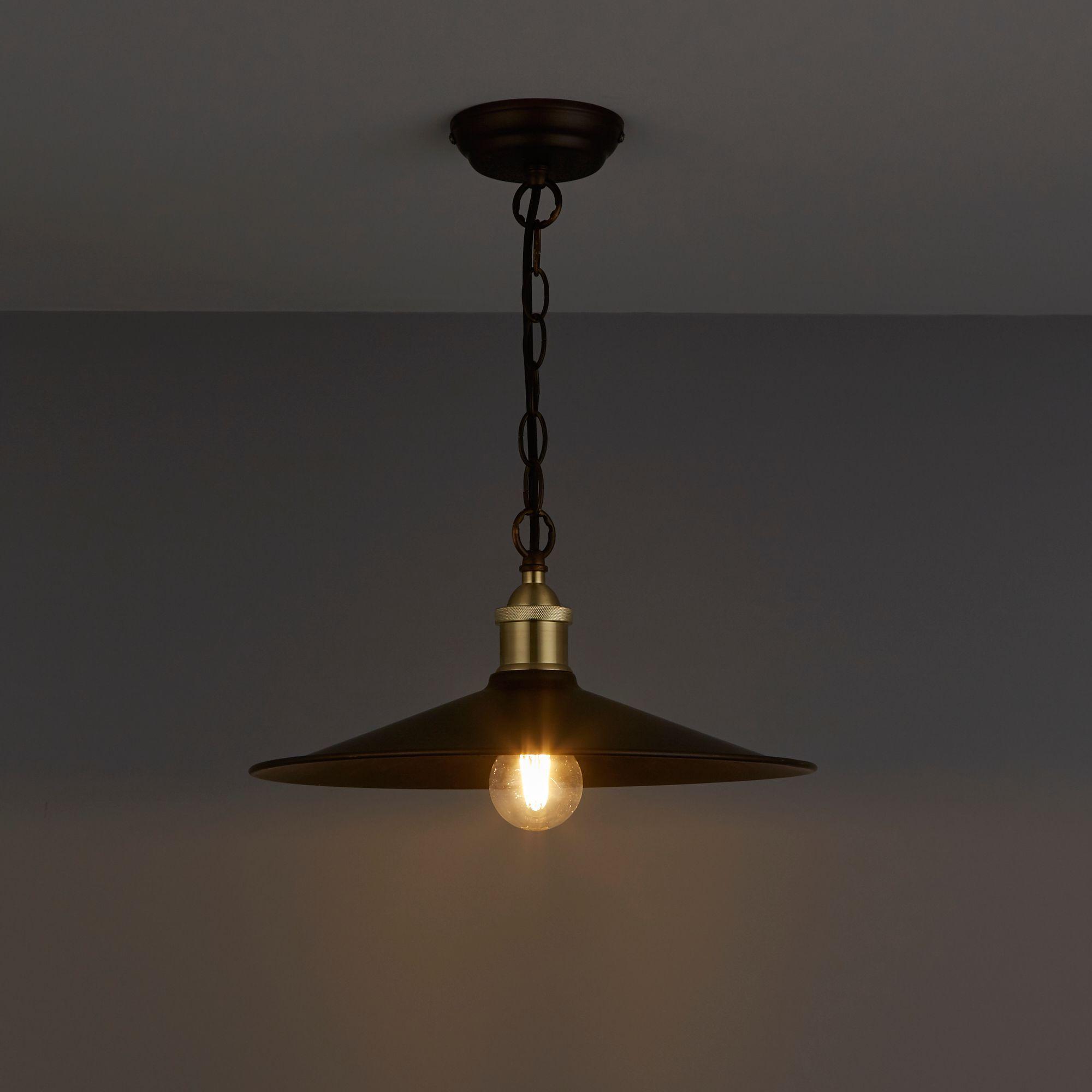 diy ceiling lighting. Alfie Bronze Effect Pendant Ceiling Light Diy Lighting K
