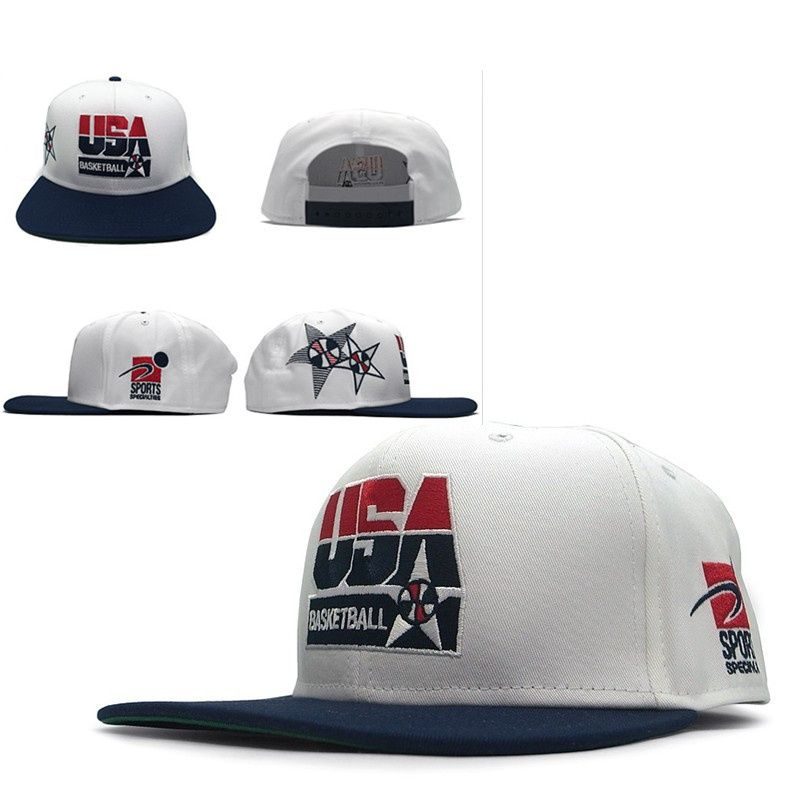 6127ac2c50c Nike Nike USA basketball specialty Snapback Hats White