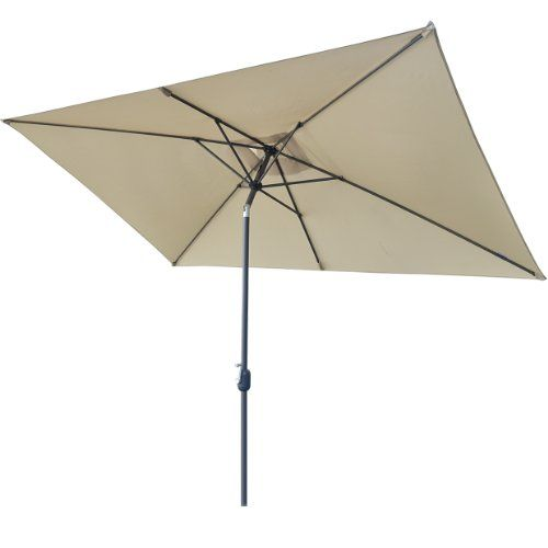cool 2M x 3M Rectangular PATIO GARDEN UMBRELLA AIRVENT MARKET OUTDOOR MARKET NEW PARASOL-BEIGE COLOR Buy this and much more home & living products at http://www.woonio.co.uk/p/2m-x-3m-rectangular-patio-garden-umbrella-airvent-market-outdoor-market-new-parasol-beige-color/