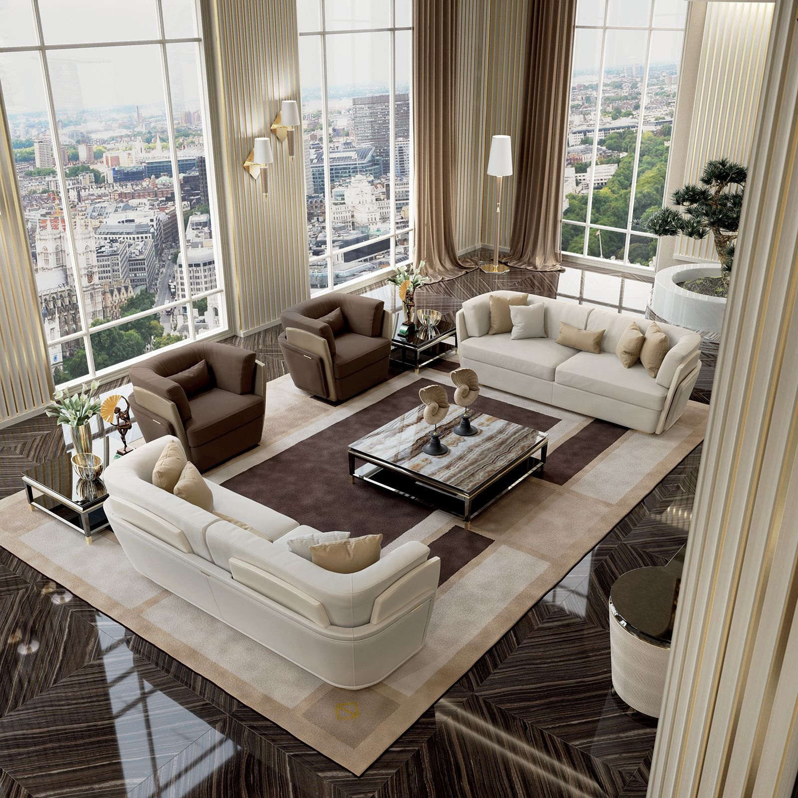 Luxury Home Interior Design Living Rooms: Blanche Collection Www.turri.it Luxury Living Room