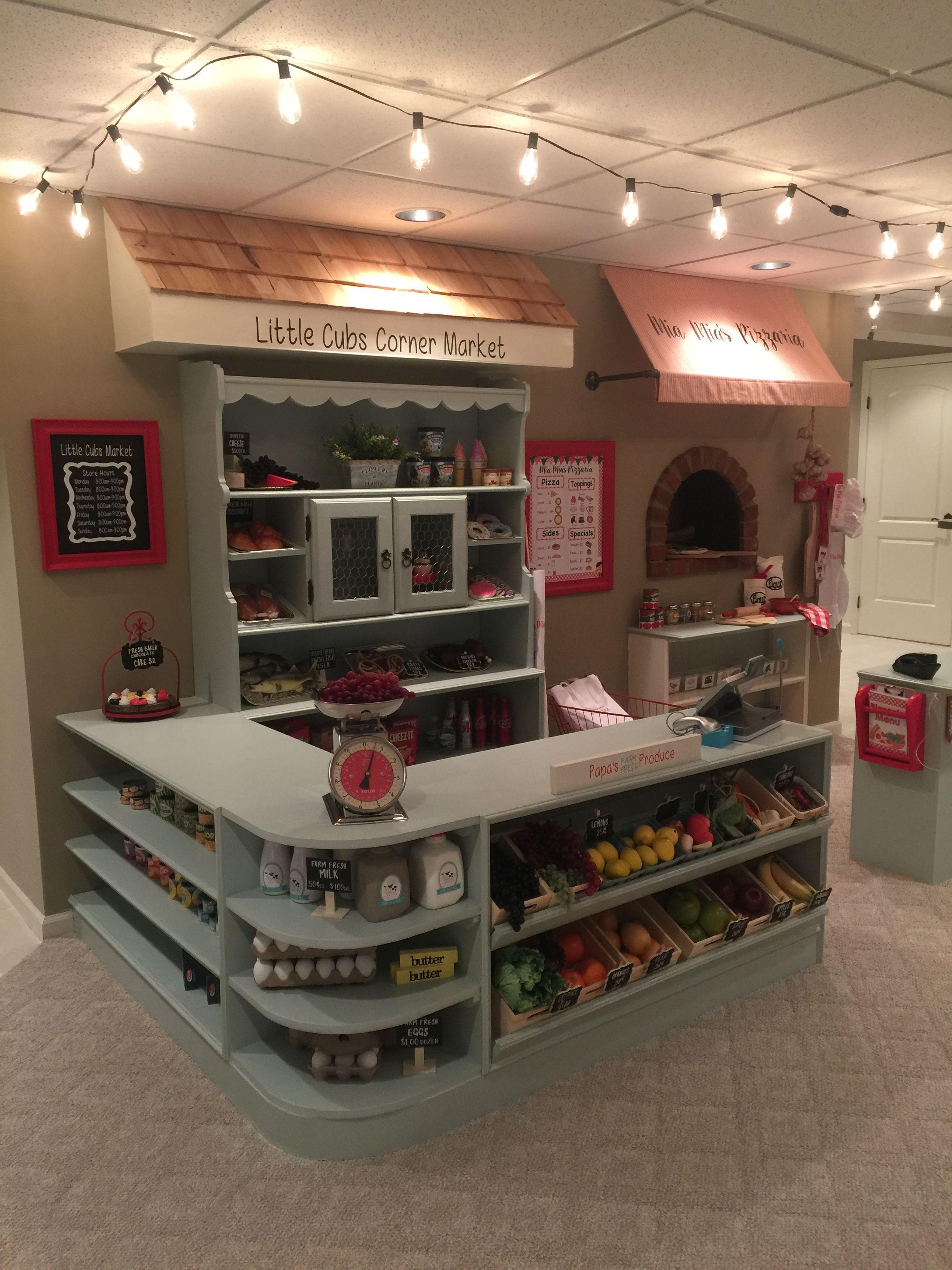 diy play play market camper remodel salle de jeux enfants salle de jeux am nagement de. Black Bedroom Furniture Sets. Home Design Ideas