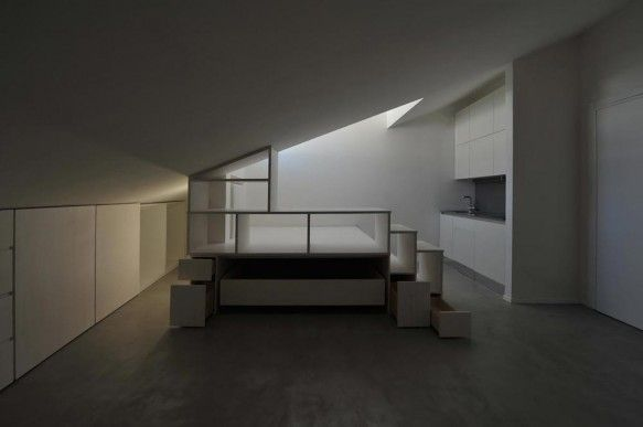 An Attic You Wouldn T Mind Being Trapped In Attic Renovation Attic Remodel Attic Apartment