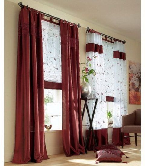 10 Best Images About Curtain Design Ideas On Pinterest | Girls