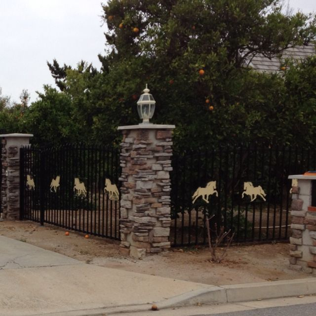 Handcrafted fencing!