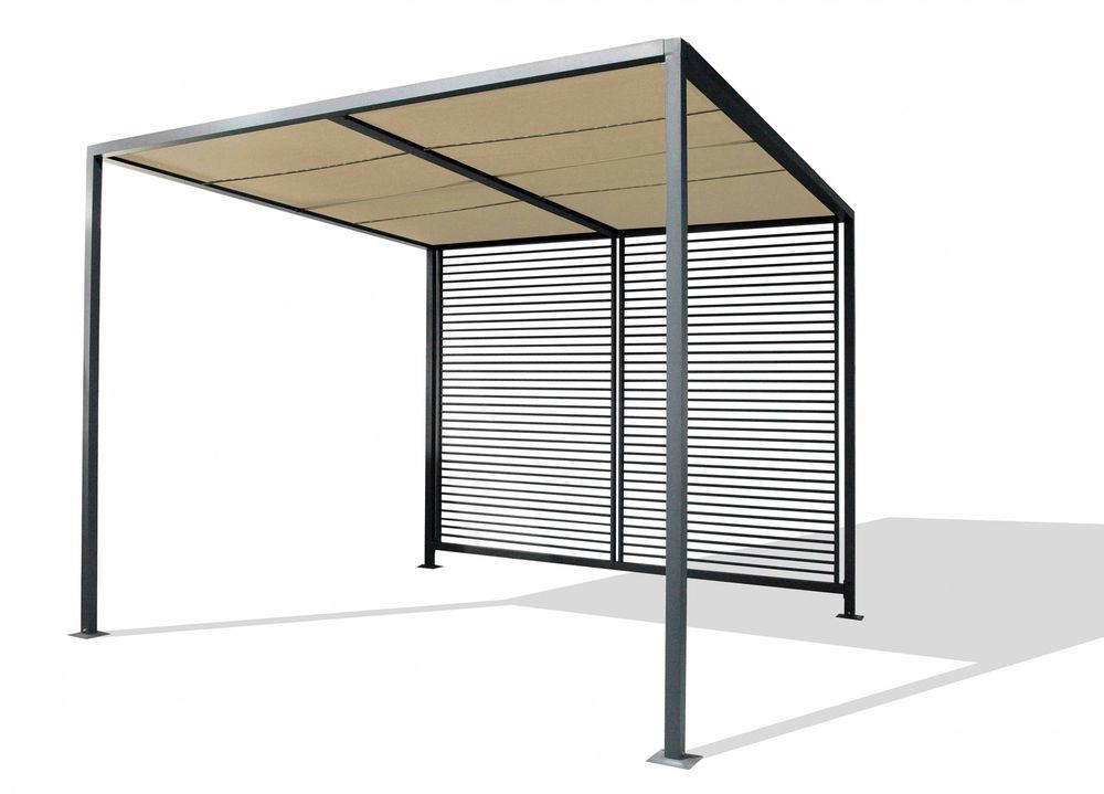 Leco Design Pergola 2,8x2,8 Garten Terrasse Überdachung