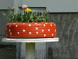 jardim com material reciclado - Pesquisa Google