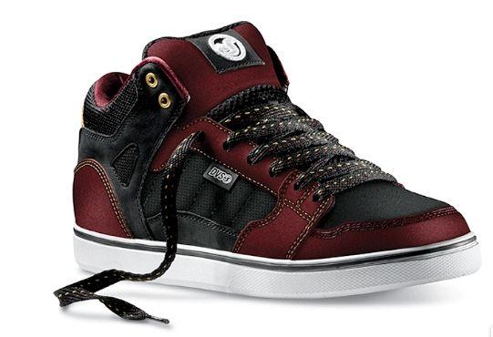 DVS Huf Mid - Dark Red/Black | Dvs