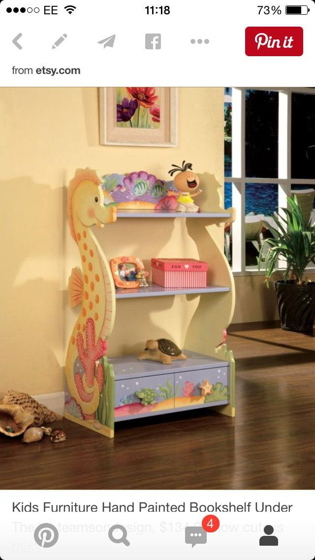 Take A Look At This Under The Sea Bookshelf Today
