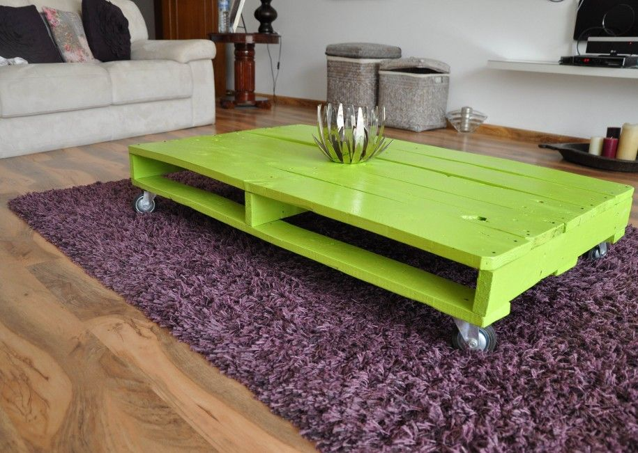 Perfect 12 Creative Coffee Tables For Modern Living Rooms : Unique Lime Green  Coffee Table Design With