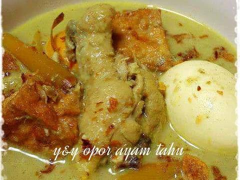 Resep Opor Ayam Oleh Yny Resep Resep Makanan Resep Resep Masakan