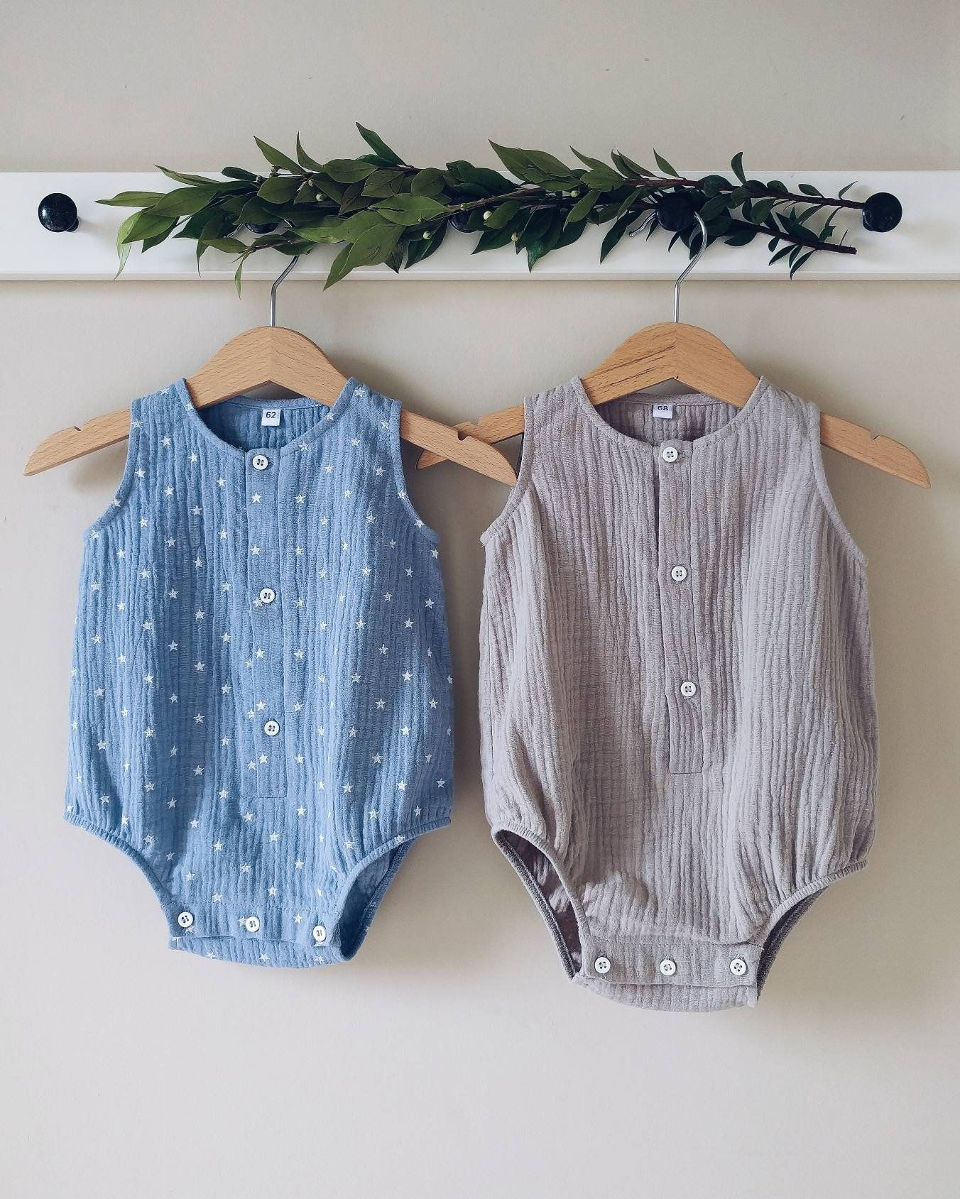 Baby Girl Boy Romper Jumpsuit Baby Dinosaur Unisex Tiny Cottons Sleeveless Infant Clothes Summer Spring Autumn Baby Clothes Finely Processed Rompers