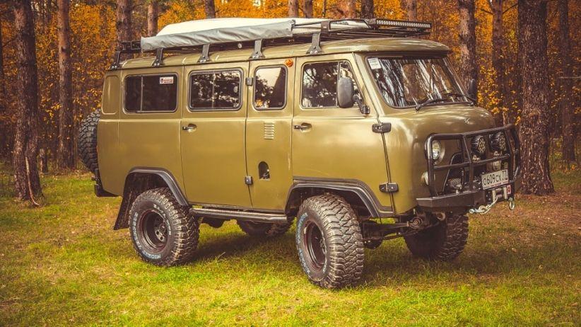 """УАЗ """"Буханка"""" - машина для дальних путешествий с комфортом ..."""