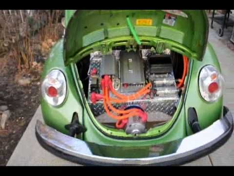 Go Green Electric Vw Bug Rebirthauto 96volt Kit 001 In Car