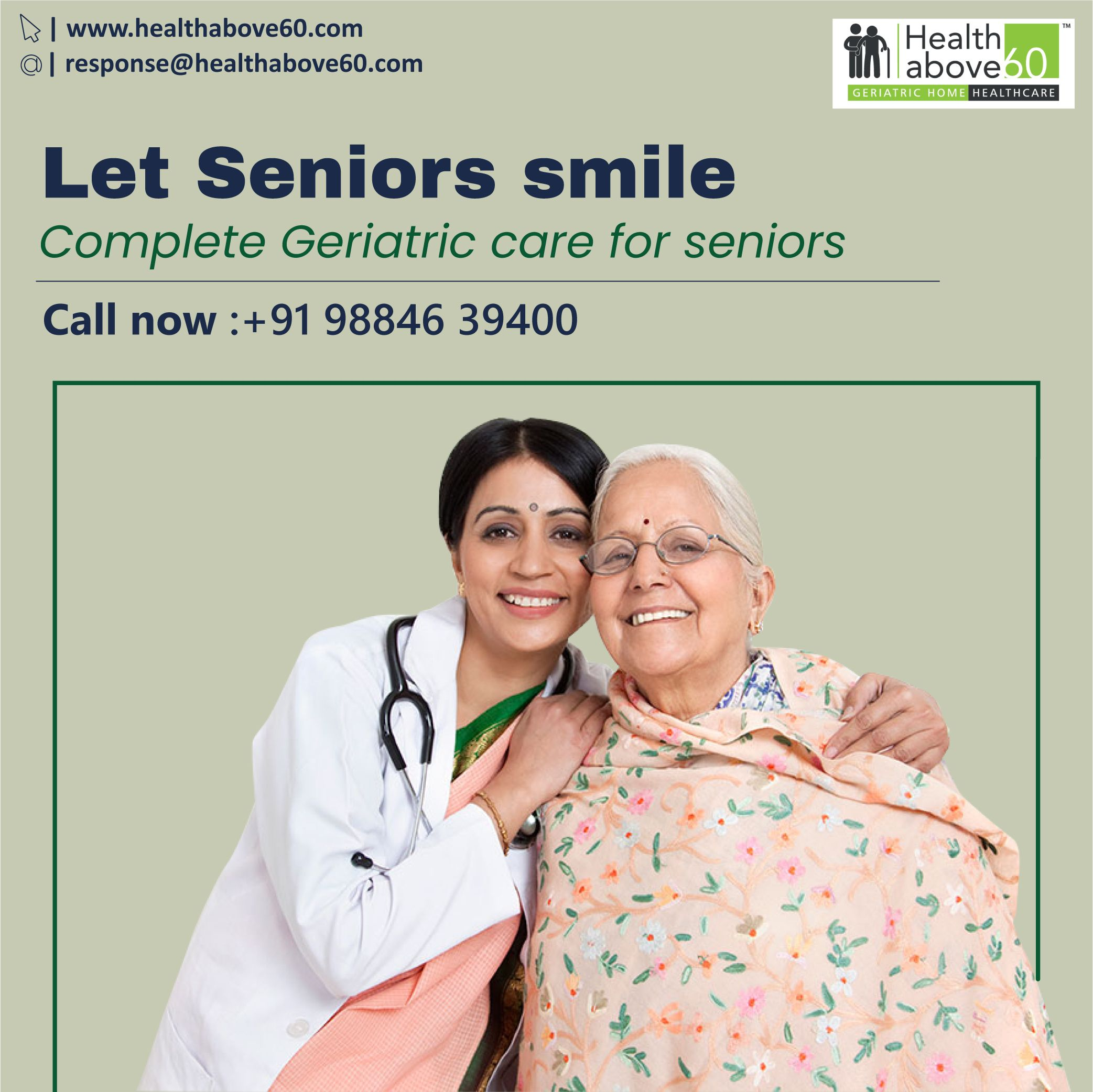 Geriatric care for seniors in 2020 geriatric care