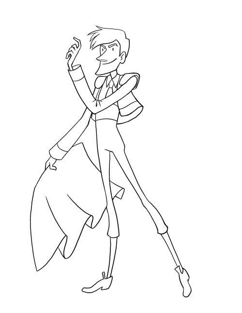 A matador sketch from a while back skole tyren ferdinand - best of coloring pages of king midas