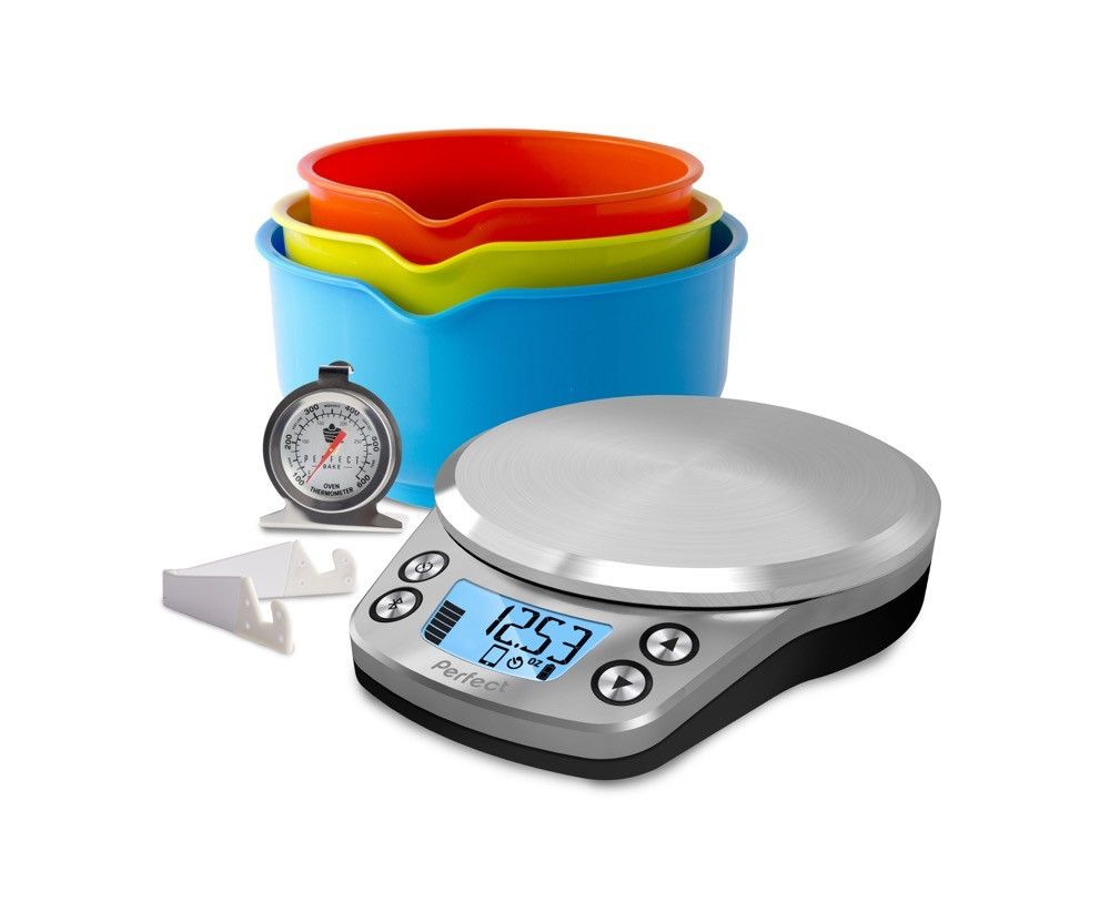 Perfect Bake ProEver dream of baking the perfect pumpkin pie, angel food cake or macaroon? With Perfect Bake PRO Smart Scale and Interactive Recipe App anyone can bake like