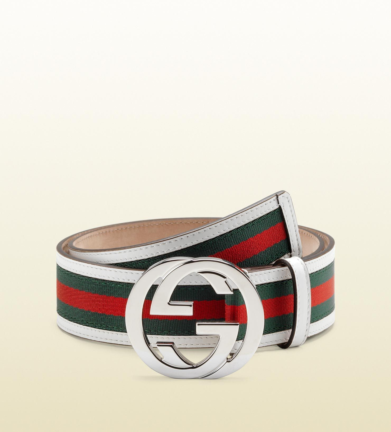 Gucci belt with interlocking g buckle gucci belt