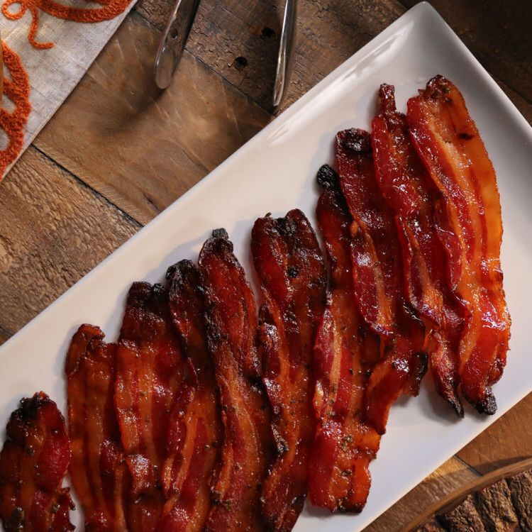 Lacquered Bacon