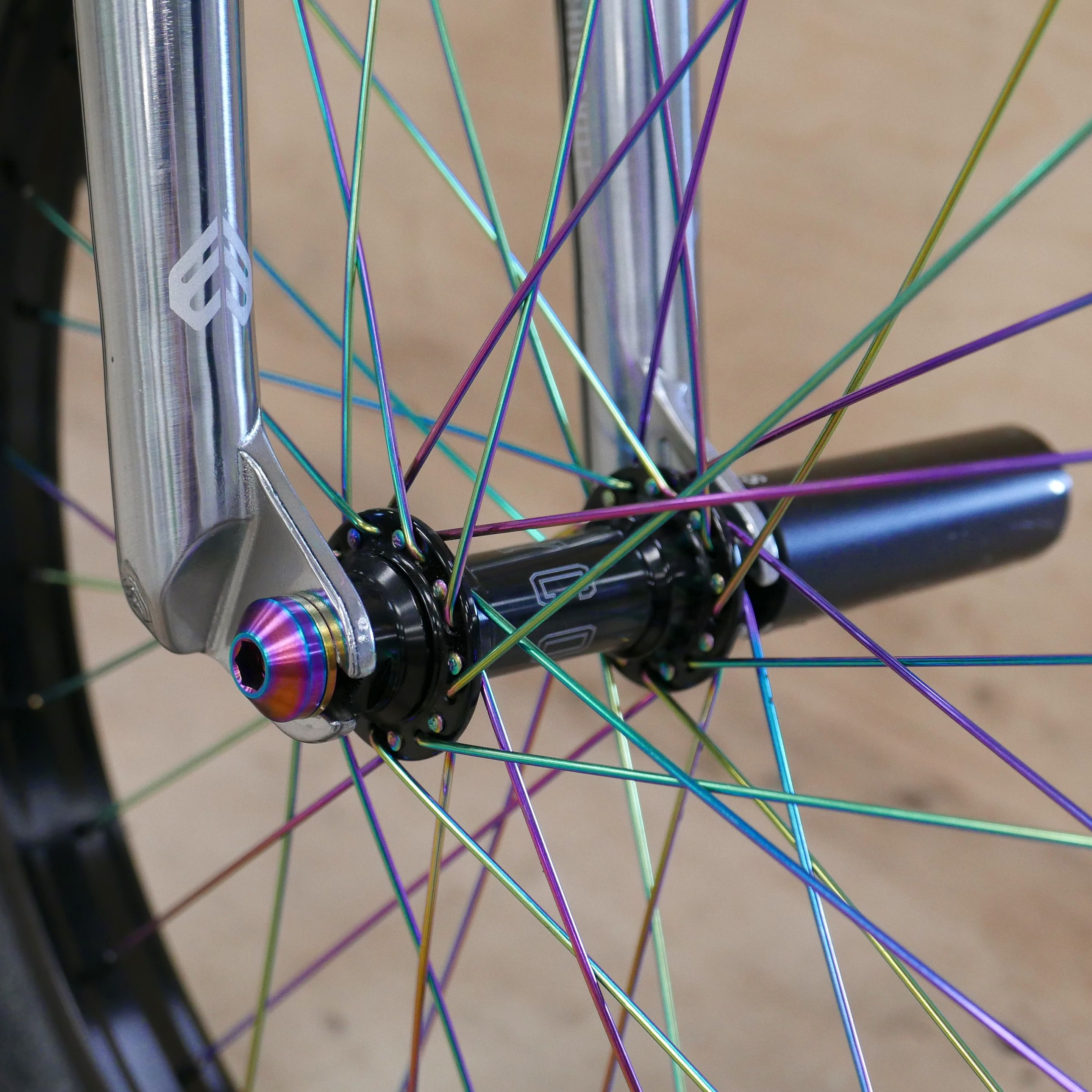 Shave weight off your wheels whilst making them stand out with our