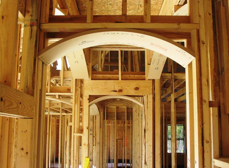 soft archway before drywall archway arch arch kit on dry wall id=25565