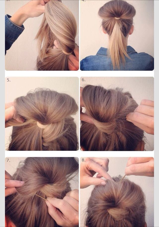 Fan Bun Bun Hairstyles For Long Hair Fan Bun Messy Bun Hairstyles