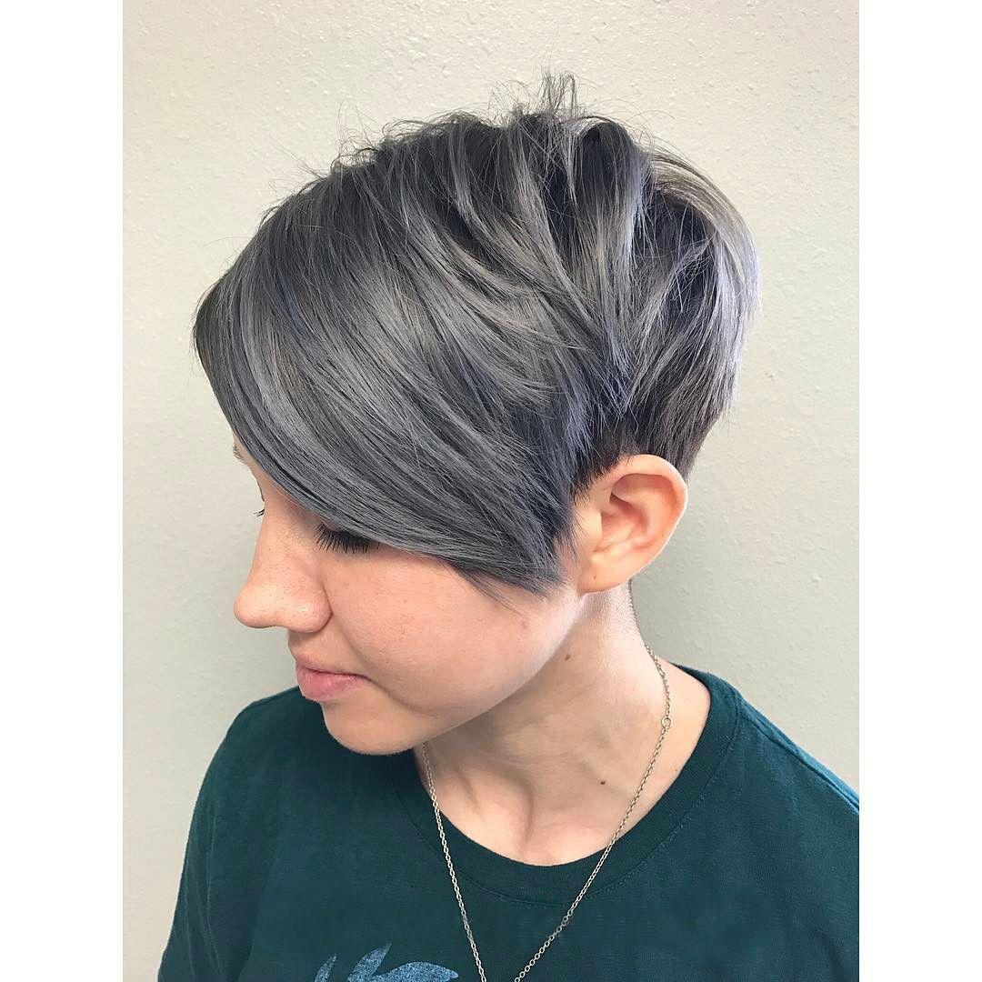 semigrey pixie hair pinterest hair hair trends and short