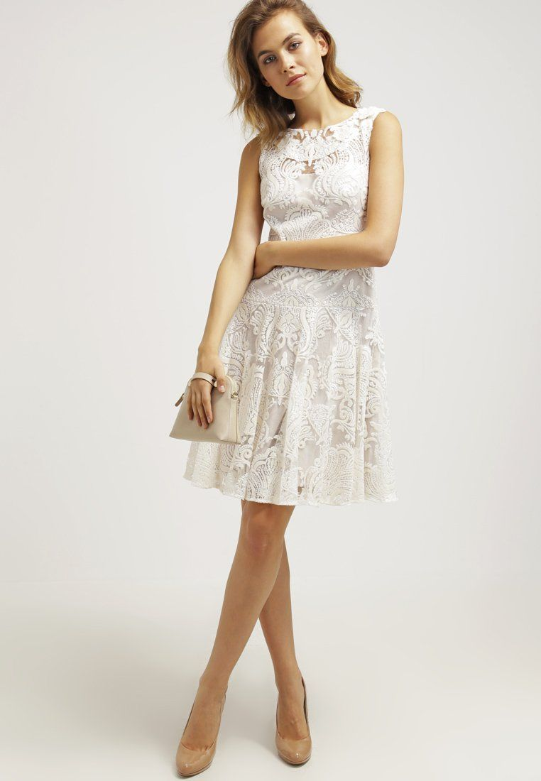 Marchesa Notte Cocktailkleid / festliches Kleid white Sale bei ...