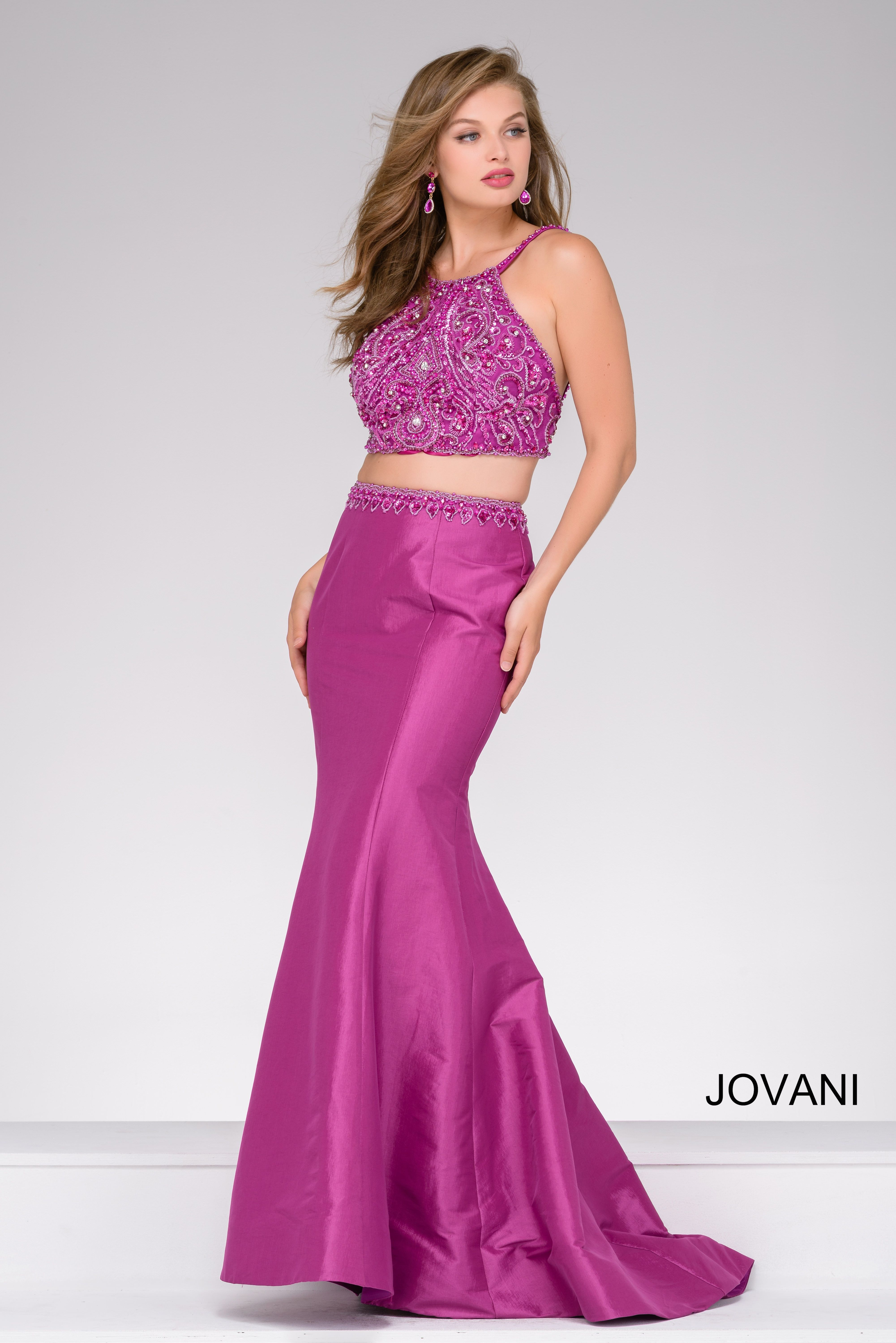 Purple perfection in Jovani style 48907 available at WhatchamaCallit ...