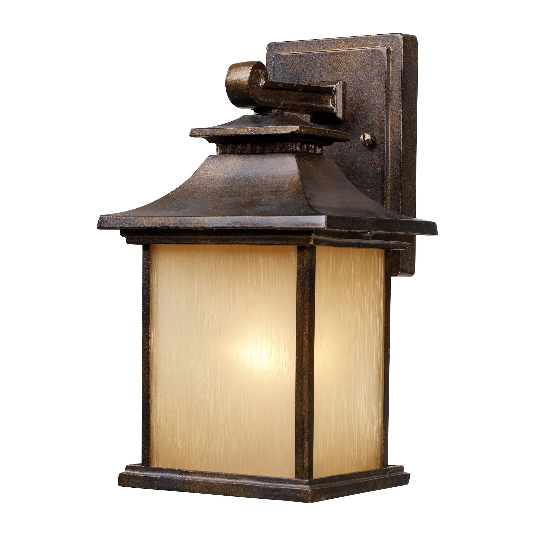 42180/1 San Gabriel 1-Light Outdoor Sconce in Hazelnut Bronze