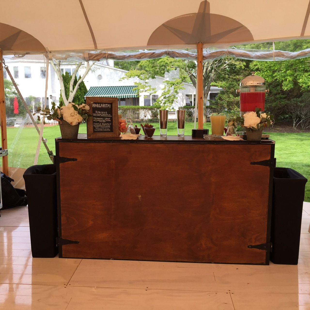 Party Rental Ltd. Drinks!!! from our Portable Farm House