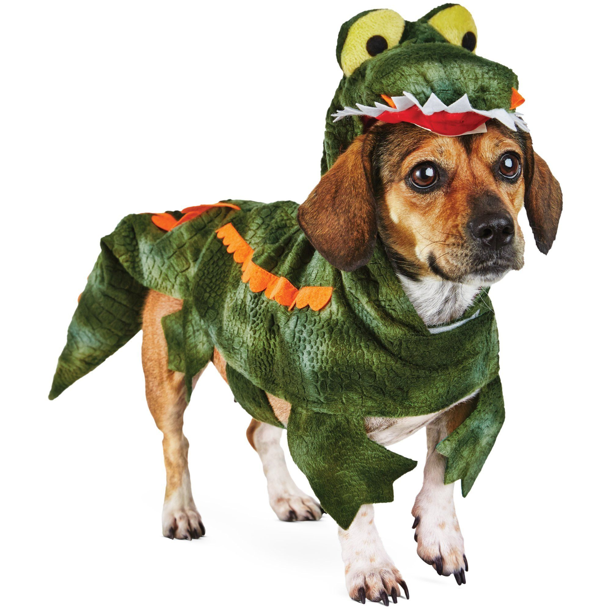 Halloween Bootique Gator Dog Costume Xxl Xxlarge Green Read