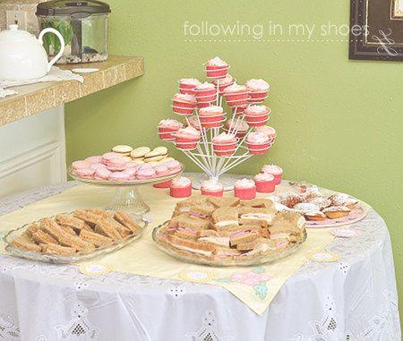 Tea Party Birthday Food