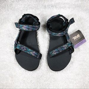 Mens New Velcro Teva Sandals Never Worn