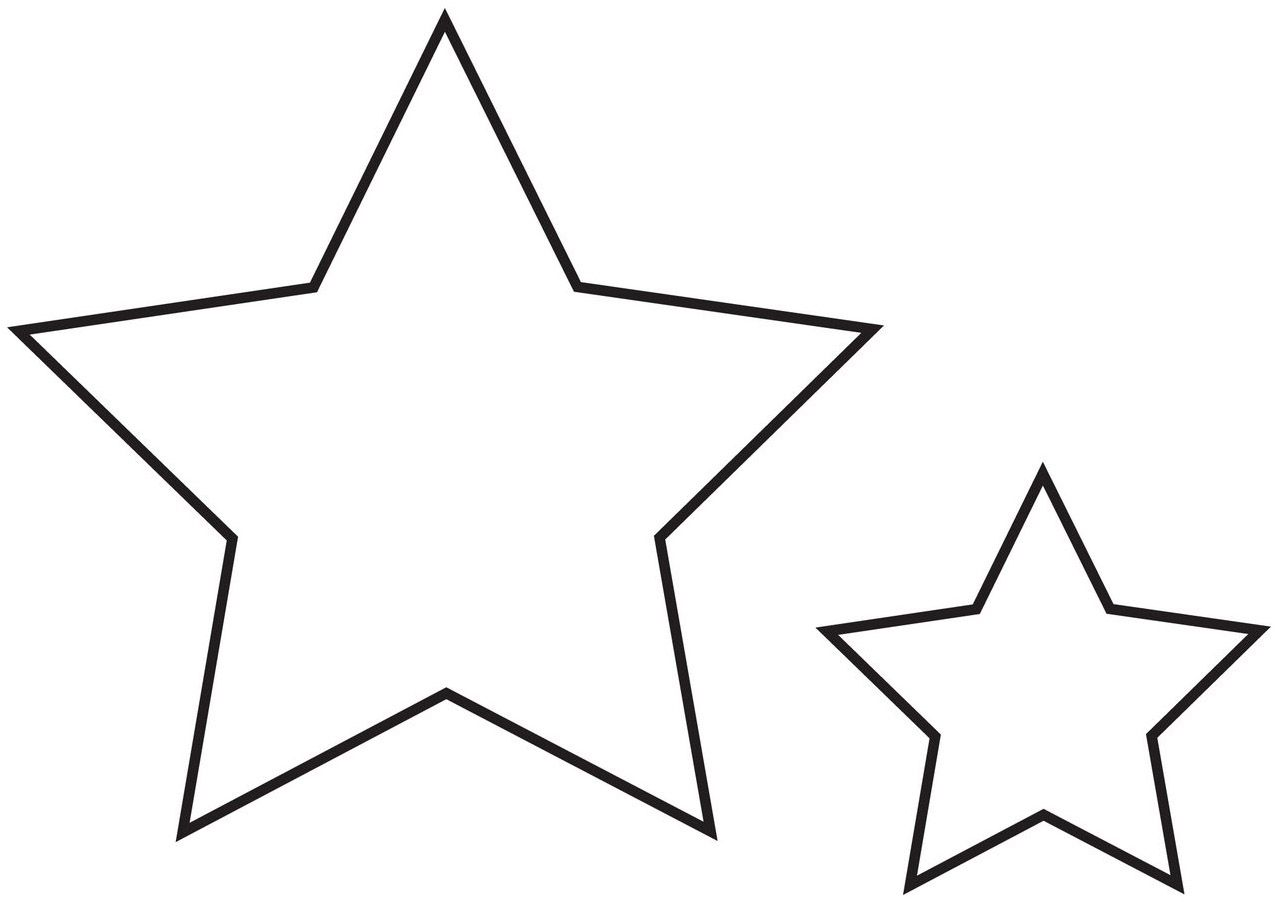 Estrellas Patrones Estrellas Para Imprimir Estrellas Para Calcar