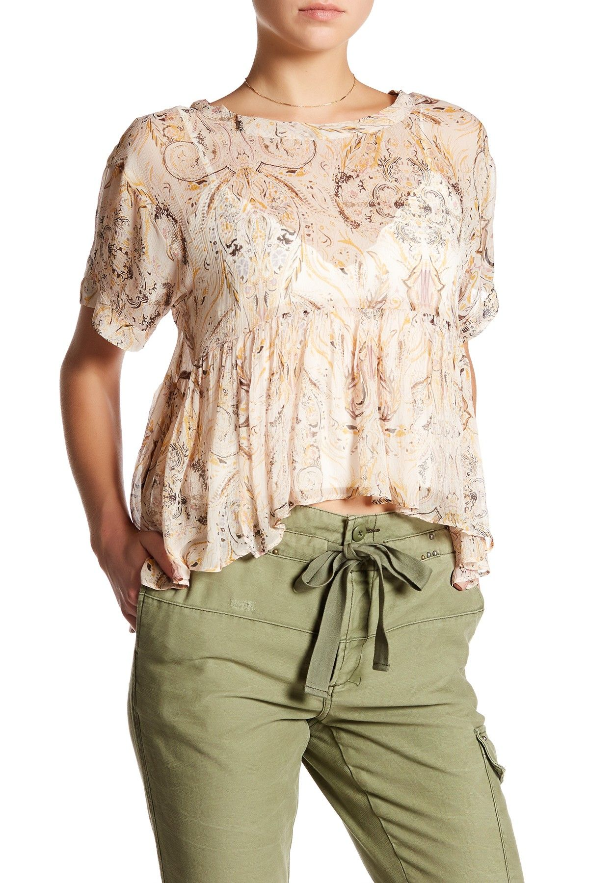 Say You Will Paisley Shirt by Free People on @nordstrom_rack