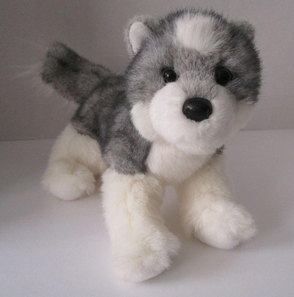Douglas Cuddle Siberian Husky Plush Dog 12 Stuffed Animal Toy