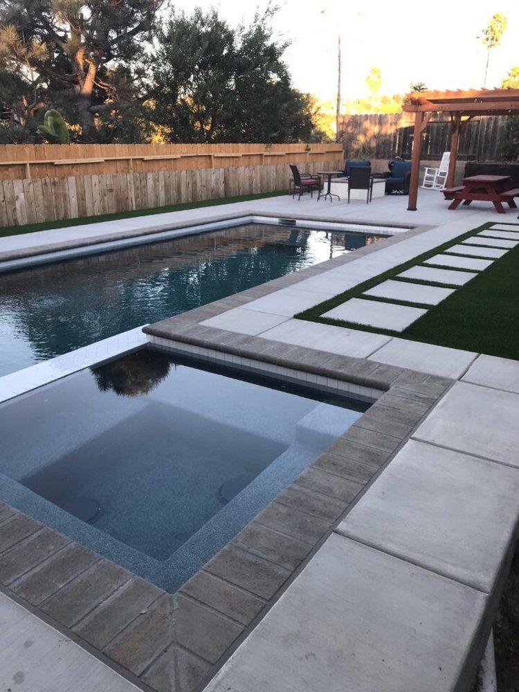 Photos For Premier Pools Spas Yelp Backyard Pool Landscaping Backyard Pool Designs Small Pool Design