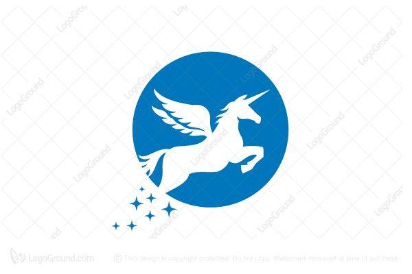 Exclusive Logo 27566 Simple Unicorn Logo Buy Animal Ready Made