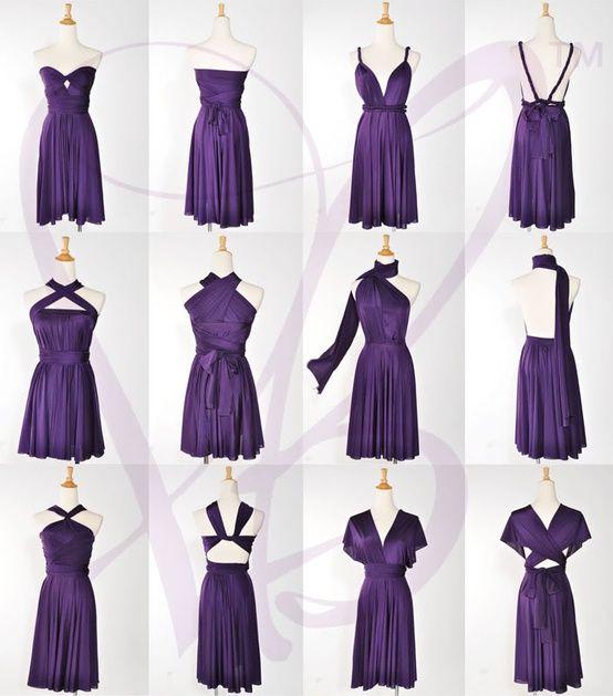 Convertible dress | Sewing | Pinterest