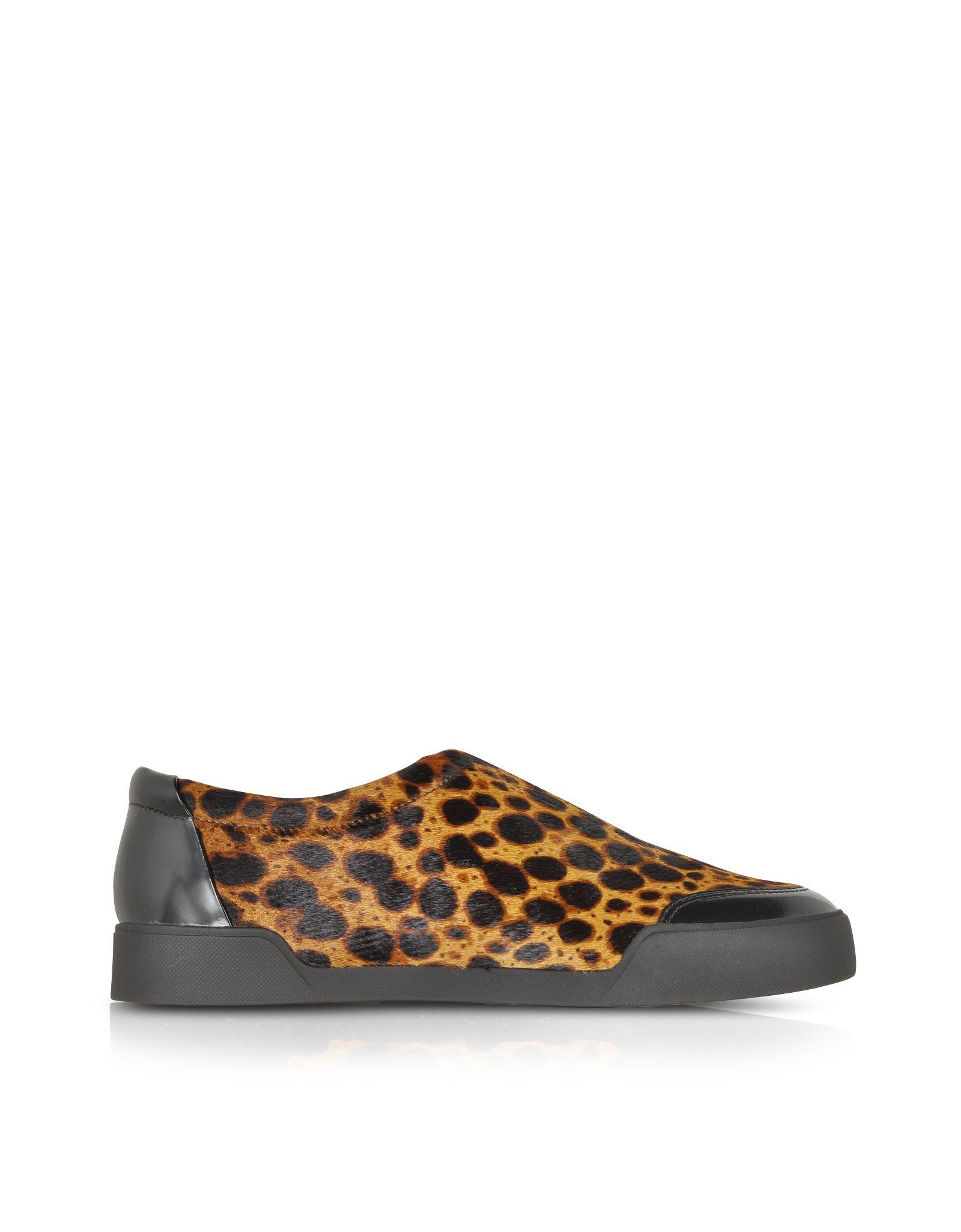 903f6f0bccf Printing · Shoes · Phillip Lim · 3.1 Phillip Lim Morgan Animal Print  Haircalf Low Top Sneaker at FORZIERI