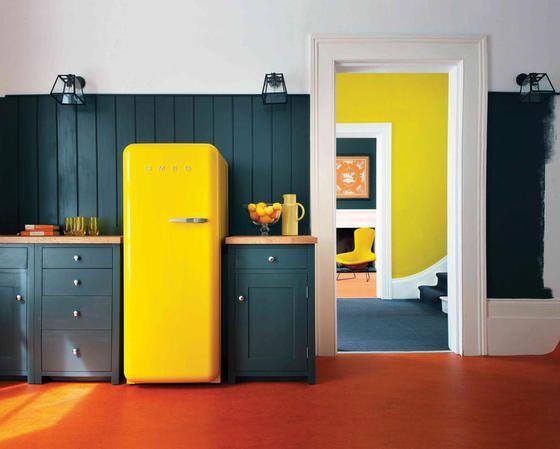 Amerikanischer Kühlschrank Retro Smeg : Küchen bilder so planst du deine traumküche küche smeg
